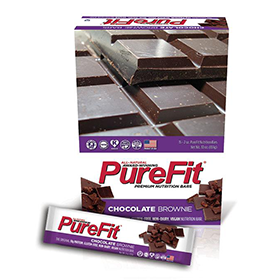 Pure Fit Chocolate Brownie Bars