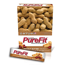 Pure Fit Peanut Butter Crunch Bars