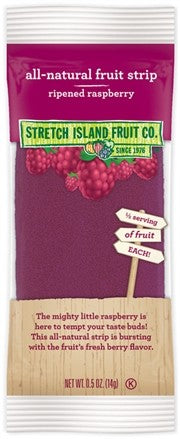 Stretch Island Fruit Leather - Ripened Raspberry