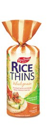 Real Foods Rice Thins  {Wholegrain}