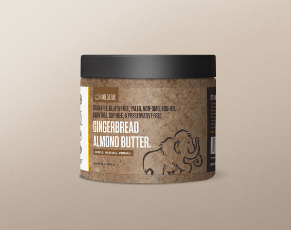 Paleo Almond Butter - Gingerbread