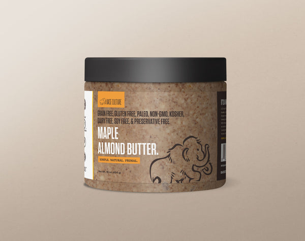 Paleo Almond Butter - Maple