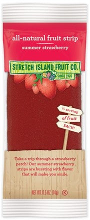 Stretch Island Fruit Leather - Summer Strawberry