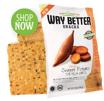Simply Sweet Potato Tortilla Chips