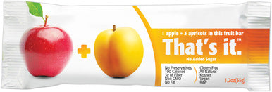 Thats it - Apple & Apricot Fruit Bar