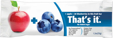 Thats it - Apple Blueberry Fruit Bar