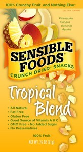 Sensible FoodsTropical Blend Fruit Snack