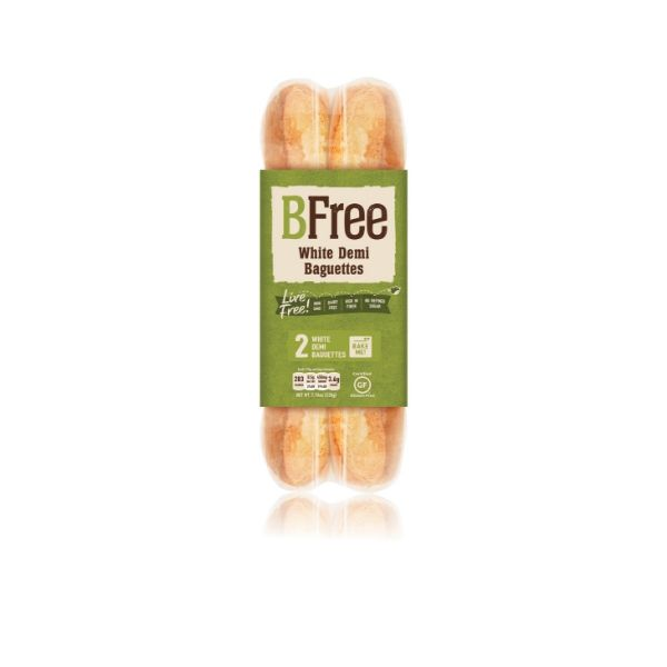 BFree Gluten Free Bake at Home Demi Baguette