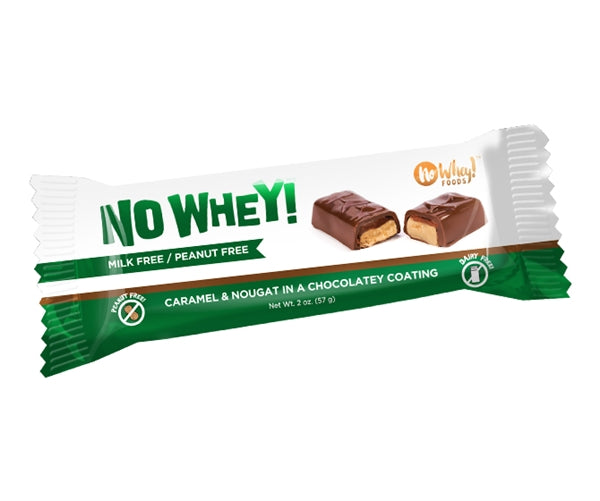 No Whey! Choclate Caramel Nougat Bar
