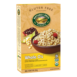 Natures Path Organic Whole O's Cereal