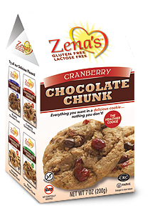Zenas Cranberry Chocolate Chunk Cookies