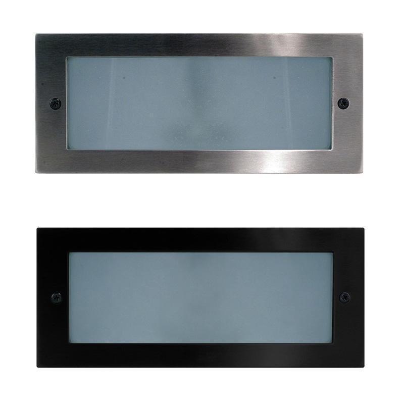 BATA LED Brick Light DIM Stainless Steel or Black in 3K/6K Havit Lighting - HV3003C, HV3003W
