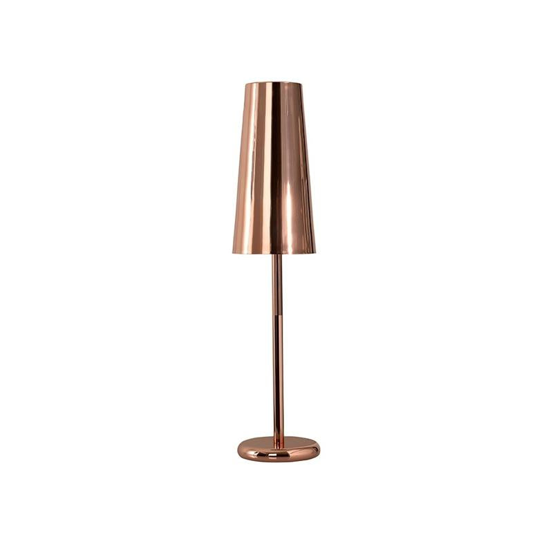 Reynold Rose Gold Table Lamp with Rose Gold Shade Bloomingdales - W16L