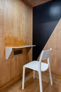 KYOSK Office Phone Booth interior with chair