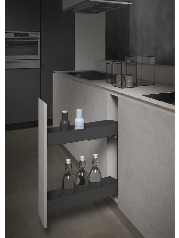 Pull-Out Bottle Rack 150mm | Orione Collection
