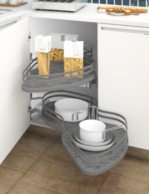 Kidney Corner Unit  | L-Shape Cabinet Solution
