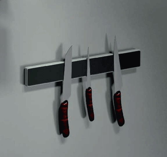 Magnetic Knife Bar | Anthracite Metal