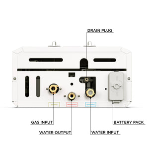 10130 - L10 Eccotemp Portable Tankless Water Heater