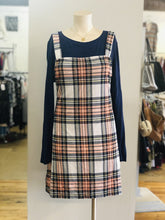 Load image into Gallery viewer, Plaid Knit dress