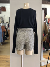Load image into Gallery viewer, Zara Tweed Shorts NWT