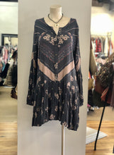 Load image into Gallery viewer, Free People Print Drop Waist Dress