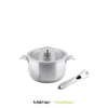 On & Off 18cm Stainless Steel Saucepan with Detachable Handle - Kitchen Square