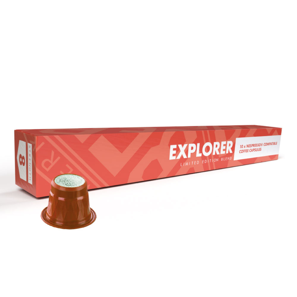 EXPLORER LIMITED EDITION COFFEE CAPSULES