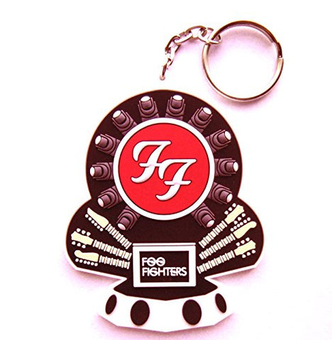 Foo Fighters Break A Leg Tour - 'Dave Grohl's Throne' Embossed Keyring - Official 2015 UK Merchandise