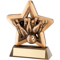 Ten Pin Bowling Star Trophy