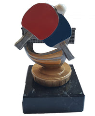 "Ping Pong or Table Tennis Trophy (3.75"") - Small Economy Trophy - Pocket Colour Trophy Range"