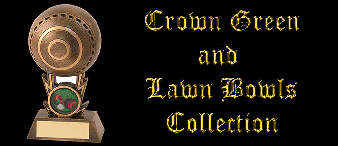 Crown Green Bowls and Lawn Bowls Trophy Collection
