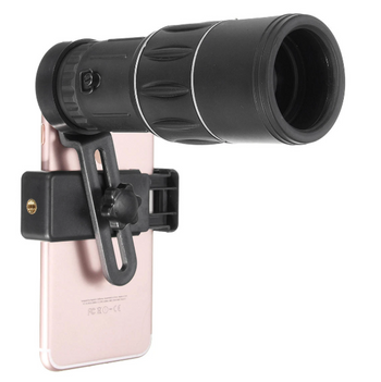 CineTech™ 16x52 Monocular HD Universal Optics Telescope with Phone Clip
