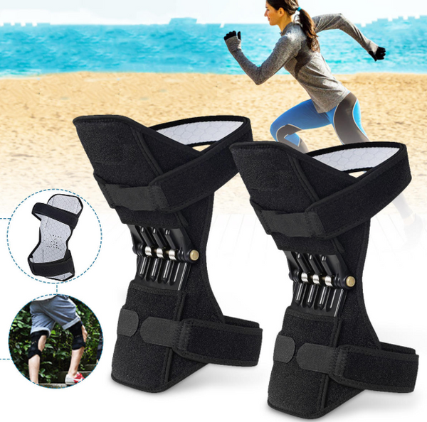 Hublite™ Knee Support Power Lift Spring Joint Brace Protector for Fitness