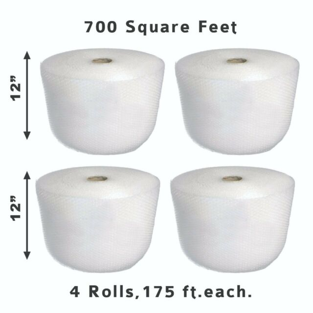 700 square feet bubble rolls