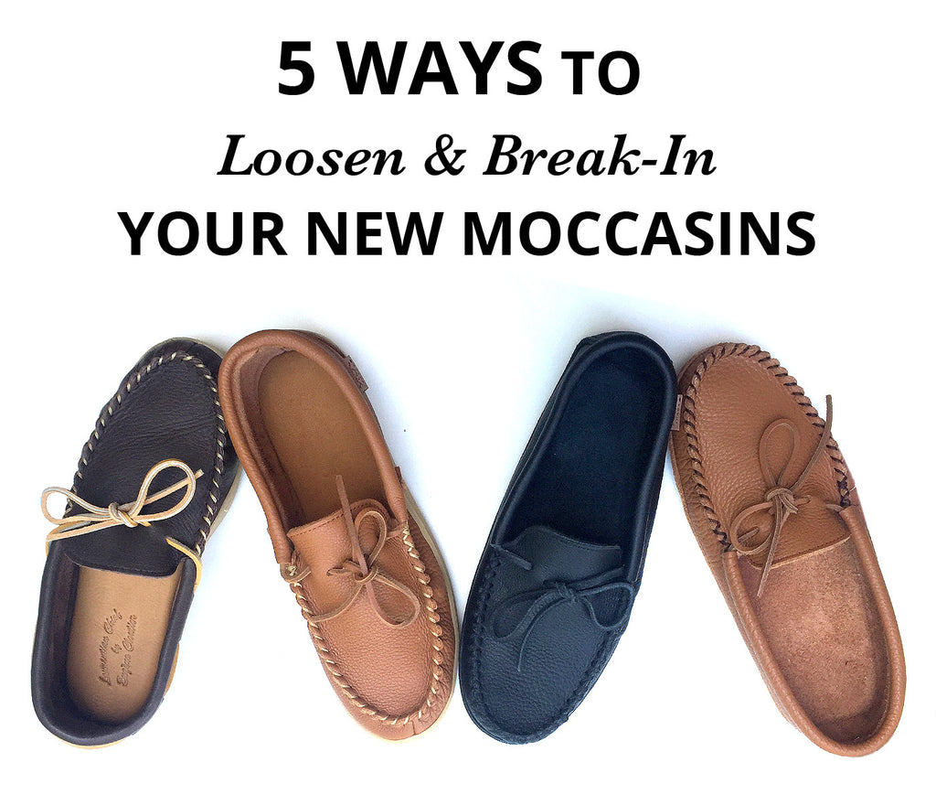 5 Ways to Loosen & Break-In Your New Moccasins