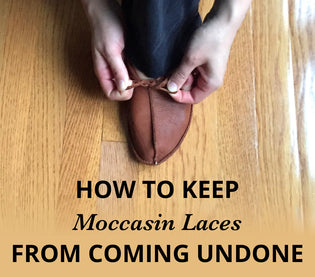 How To Keep Moccasin Laces From Coming Undone
