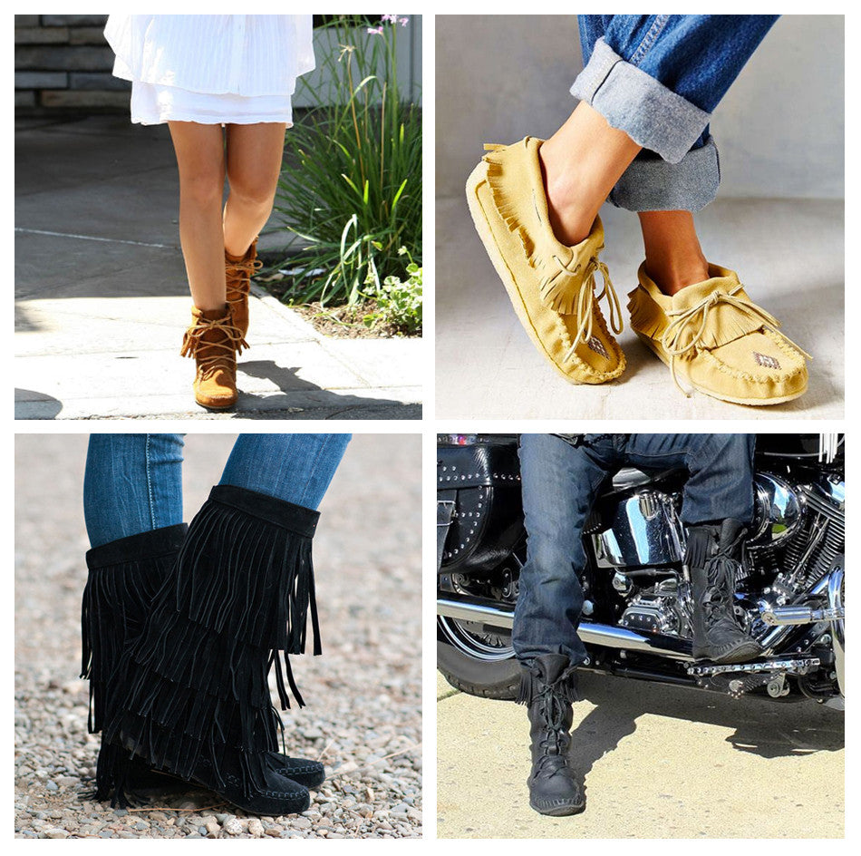 44997628de6 4 Ways to Wear Your Moccasins – Leather-Moccasins