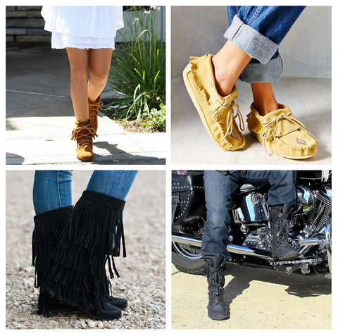 4 Ways To Wear Your Moccasins Leather Moccasins