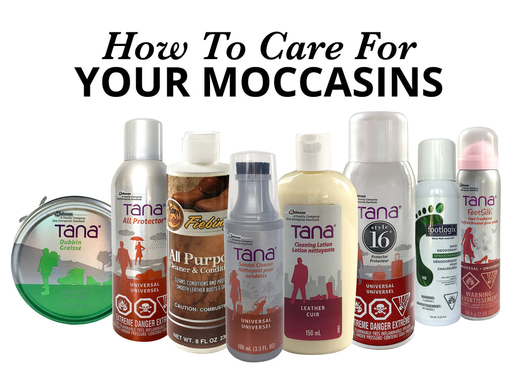 How To Care For Your Moccasins