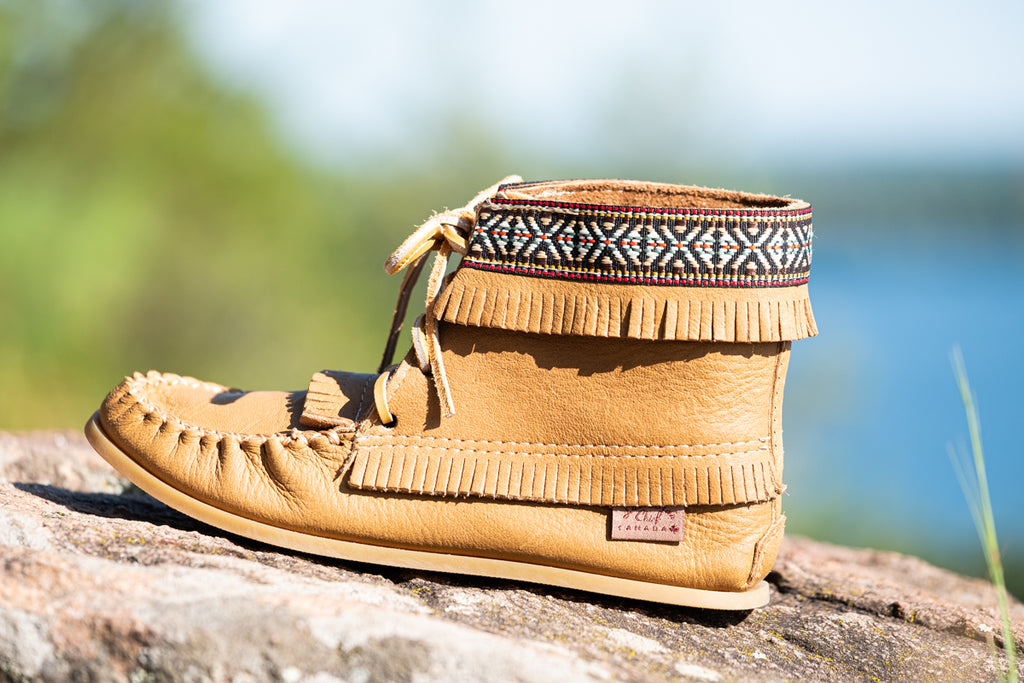 native fashion moccasin boots laurentian chief