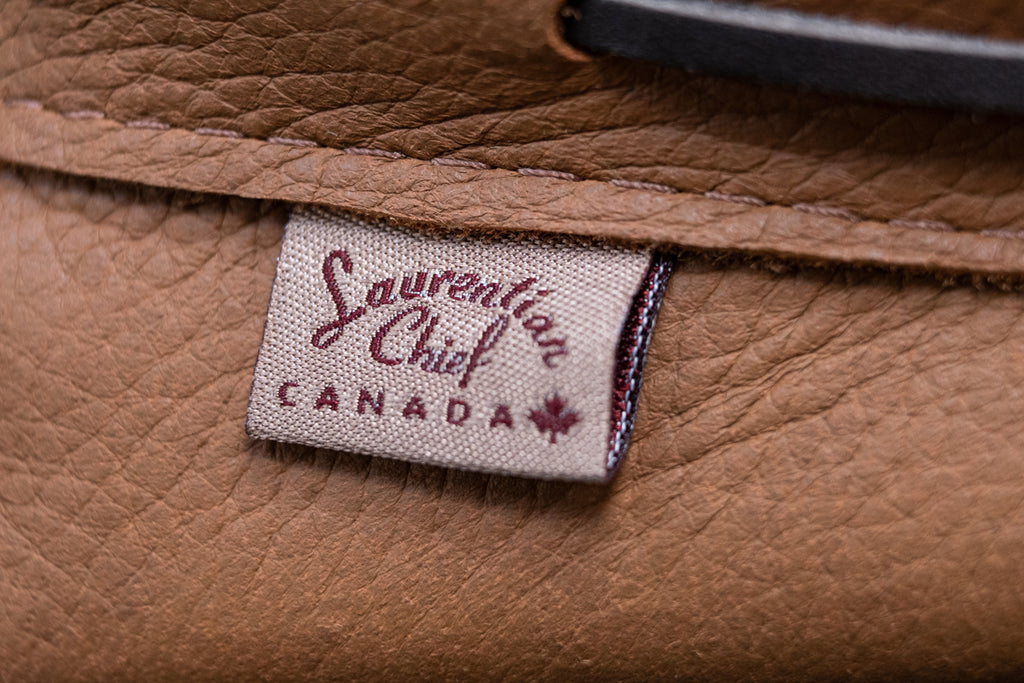 Laurentian Chief moccasins made in canada