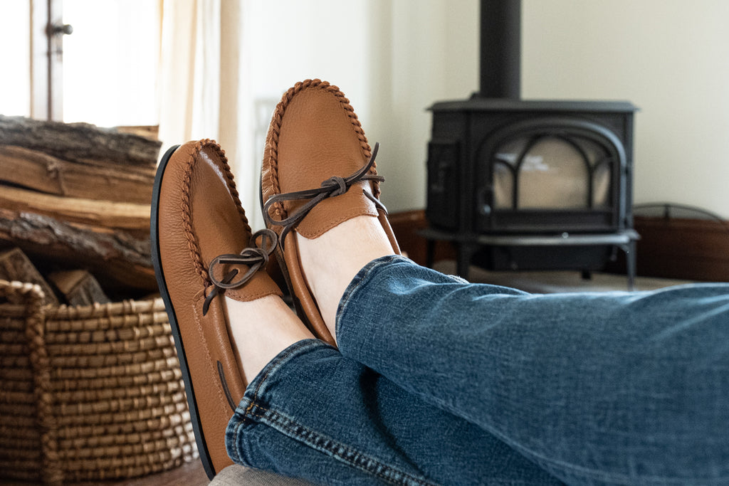 men's casual loafer style moccasins