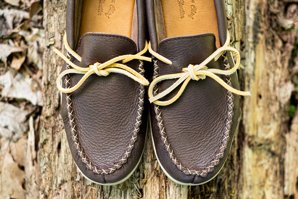 men's moccasins loafers hand-stitching quality