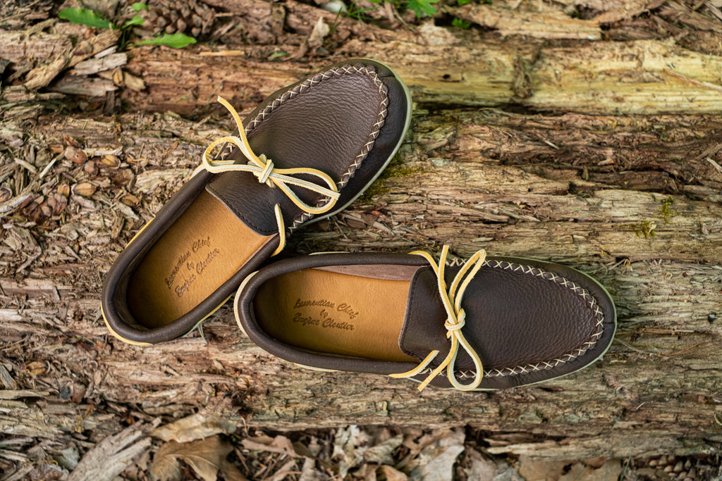authentic laurential chief moccasins made in canada