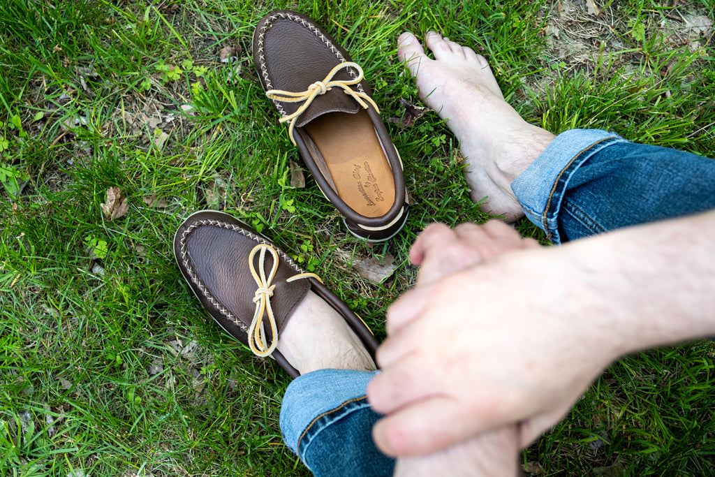 Barefoot in moccasins casual loafer mocs