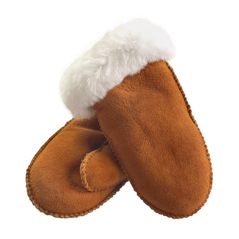 Children's Sheepskin Mittens 1013