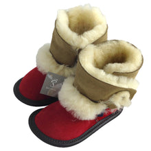 Children's Sheepskin Boot Slippers (Size 4 & 8 ONLY)