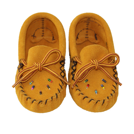 Baby Moccasins with Beading
