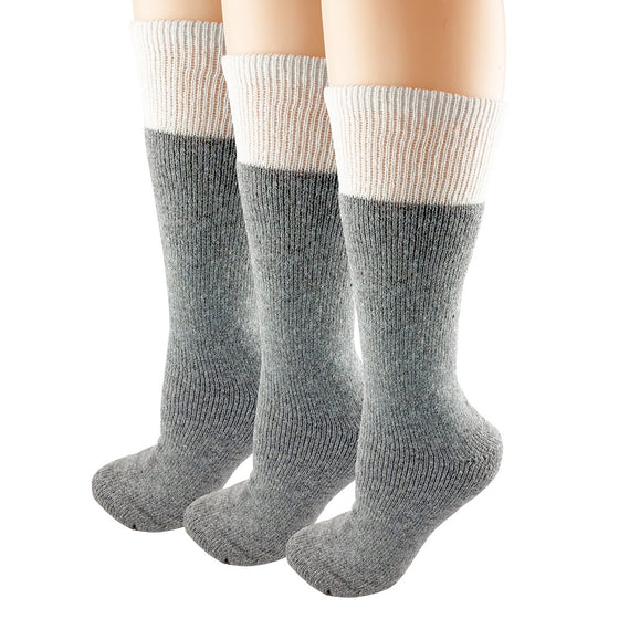 Boreal Thermal Wool Socks for Men and Women 3 Pack 1250C