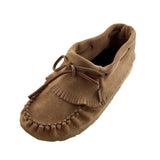 Women's Crepe Sole Ankle Moccasin Shoes 130607